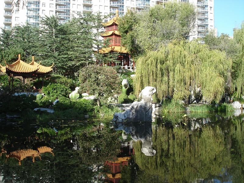 Китайский сад дружбы chinese garden of friendship